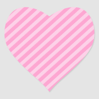 Pink Stripes. Stickers