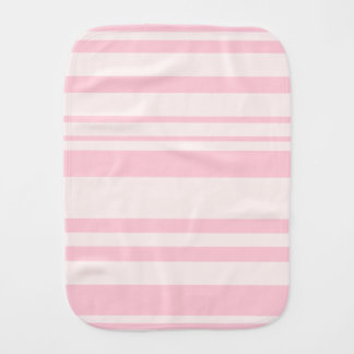 Pink Strips Baby Burp Cloth