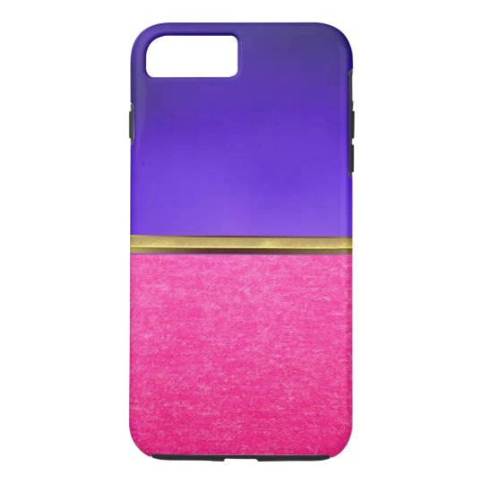 Pink Suede Texture iPhone 7 Slim Case