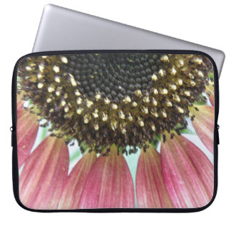 Pink Sunflower Laptop Bag