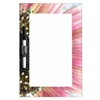 Pink Sunflower Memo Board