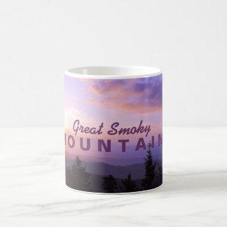 Pink Sunrise - Great Smoky Mountains Coffee Mug