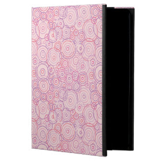 Pink Sunset Beach Outlines iPad Air Cases