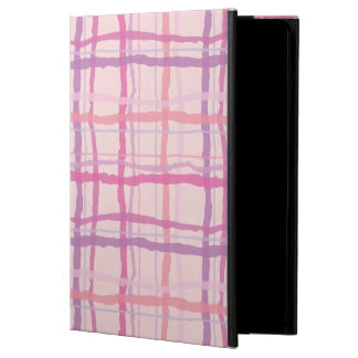 Pink Sunset Beach Plaid Cover For iPad Air