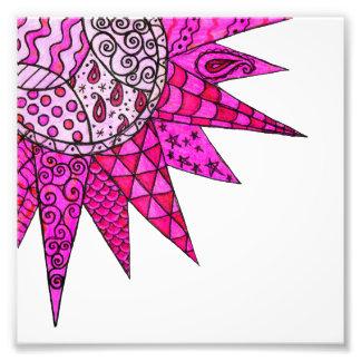 Pink Sunshine - photographic print