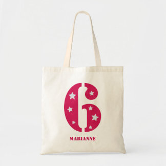 Pink Superstar 6 Birthday Bag