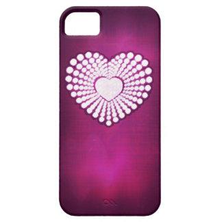 Pink superstar heart phone case