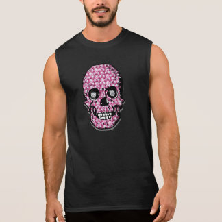 "Pink ""Surrender the Fluty"" Pirate apparel Sleeveless Shirts"