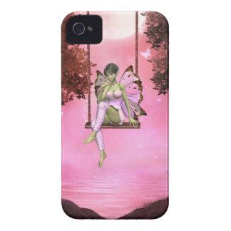 Pink Swinging Enchantments Blackberry Bold Case