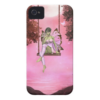 Pink Swinging Enchantments Blackberry Curve Case