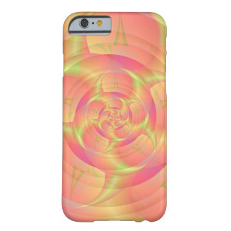 Pink Swirl Barely There iPhone 6 Case