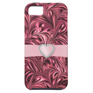 Pink Swirl Bling - SRF iPhone 5 Case