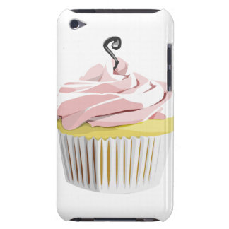 Pink swirl cupcake iPod Touch case