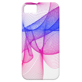 Pink Swirl, Digital Art Case For The iPhone 5