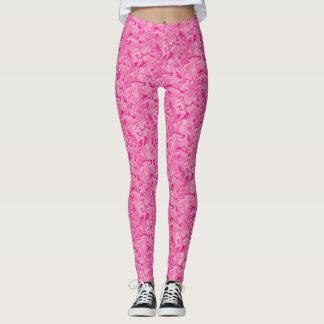 Pink Swirl Leggings