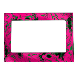 PINK SWIRL MAGNETIC FRAME