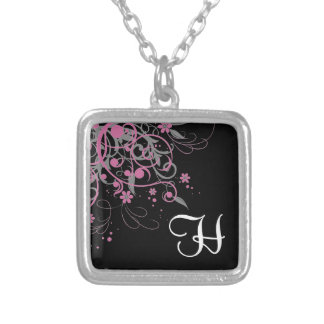 Pink Swirl Necklace