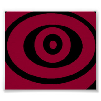 pink swirl poster