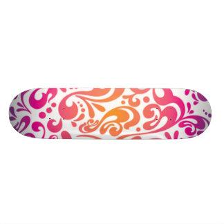 Pink Swirl Skateboard Decks