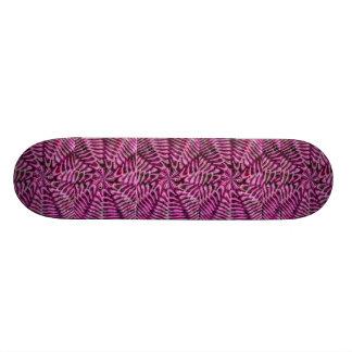 Pink Swirl Skateboard