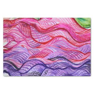 Pink Swirl Tissue Paper