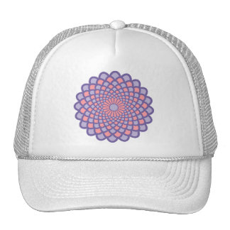 Pink Symmetry Cap