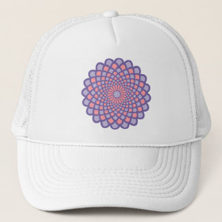 Pink Symmetry Trucker Hat