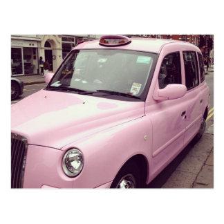 Pink Taxi Postcard