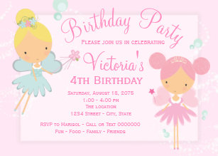 4th birthday invitations zazzle uk