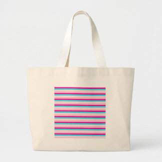 Pink Teal White Stripes Bags