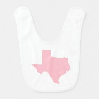 Pink Texas Bib