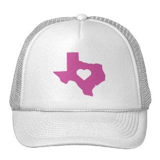 Pink Texas Cap