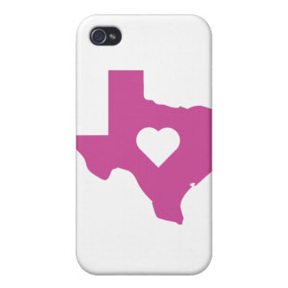 Pink Texas iPhone 4/4S Case