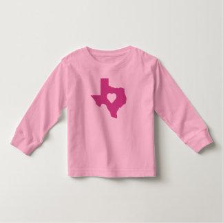 Pink Texas Toddler T-Shirt