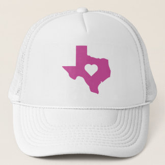 Pink Texas Trucker Hat