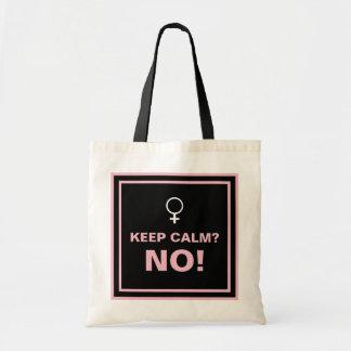 Pink Text Keep Calm No