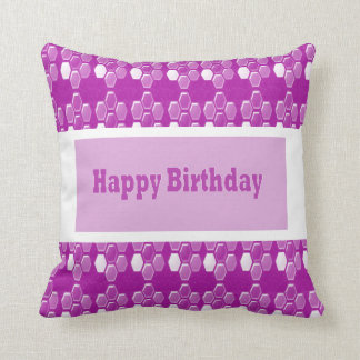 Pink Texture Template DIY gifts add TEXT PHOTO IMG Pillow