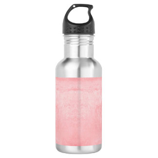 Pink Textured Pattern 532 Ml Water Bottle