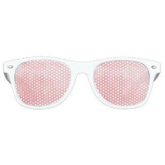 Pink Textured Retro Sunglasses