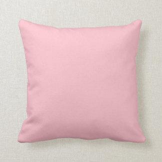 """Pink Throw Pillow - """"Customisable"""""""