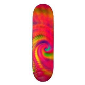 Pink Tie Dye Skateboard