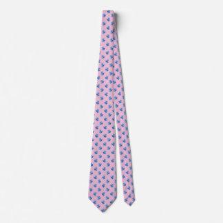 Pink Ties For Men Blue Tree Frogs