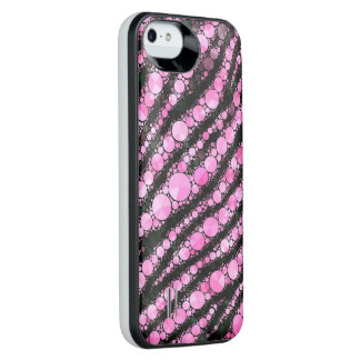 Pink Tiger Bling iPhone 6 Plus Case