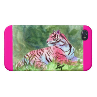 Pink Tiger iPhone 4/4S Covers