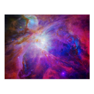 Pink Tinted Orion Nebula Postcard