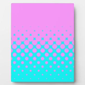 Pink to Blue Photo Plaque