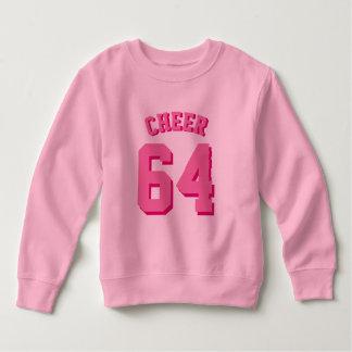 Pink Toddler   Sports Jersey Sweatshirt