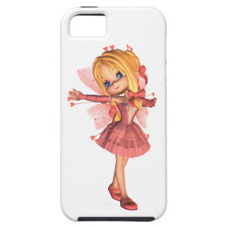Pink Toon Valentine Fairy - 1 iPhone 5 Cover