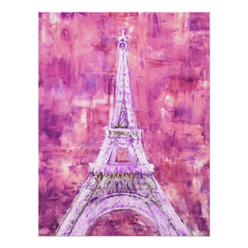Pink Tower Poster