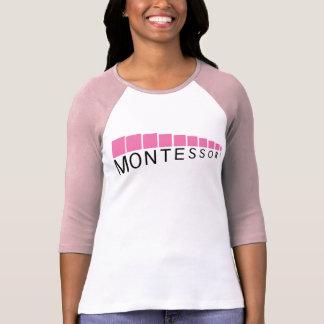 Pink Tower Three-Quarter Sleeve Comfy T-Shirt